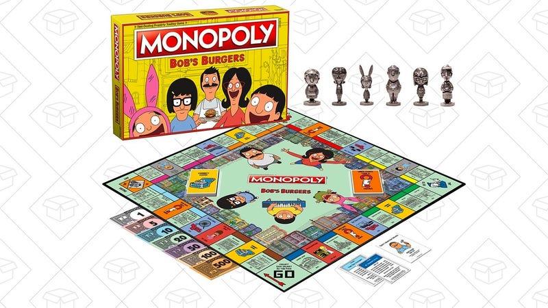 USAopoly Bob's Burgers Edition Monopoly Board Game   $29   Amazon