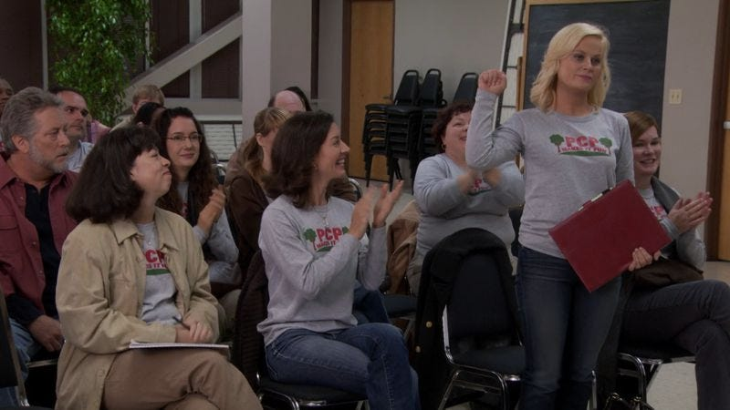 Leslie Knope knows how to get representatives' attention.