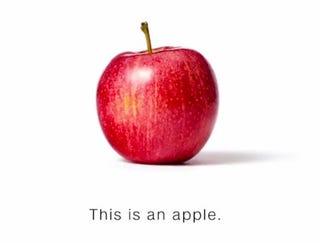 Illustration for article titled Ceci n'est pas une pomme