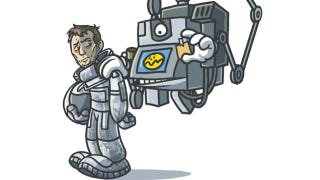 Illustration for article titled Duncan Jones teases a Moon toy line, including a Sam Bell Action Figure (with removable teeth)