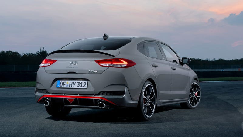 Illustration for article titled The Hyundai i30 N Fastback Shows How Much Cooler Hyundai Is in Europe