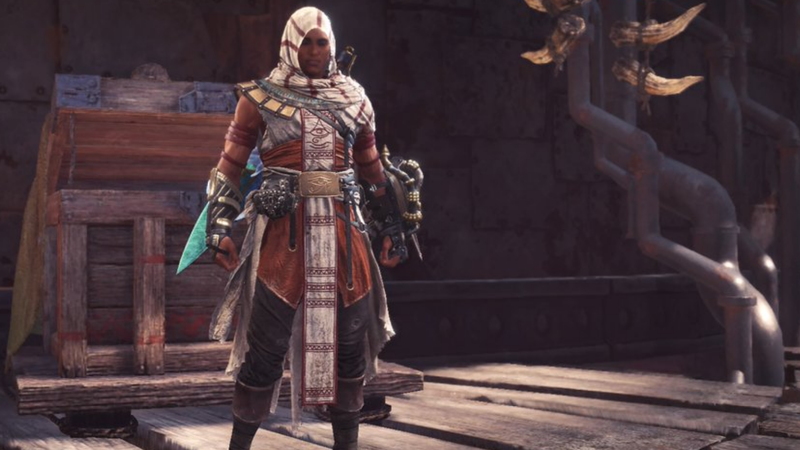 Assassins Creed Snuck Into Monster Hunter World Last Night