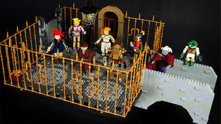 Illustration for article titled Chrono Trigger Characters In LEGO Form