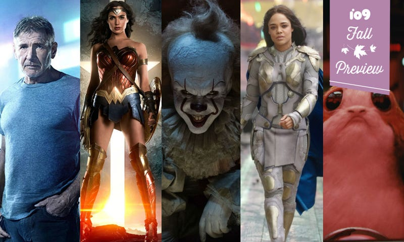 Fall Movie Guide: 35 Superhero, Scifi, and Fantasy Movies to