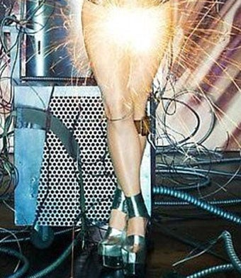Illustration for article titled Lady GaGa Strips for Science (NSFW)