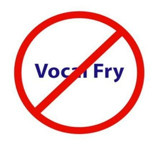 Illustration for article titled So much vocal fry