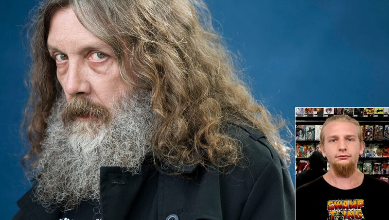 Illustration for article titled Comic-Con Fan Guesses He Enjoyed 60-Minute Panel Of Silently Masturbating Alan Moore Practicing Sex Magic