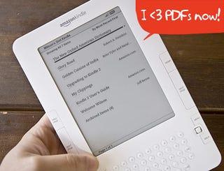 Illustration for article titled Kindle 2 Gets PDF and EPUB eBook Converter