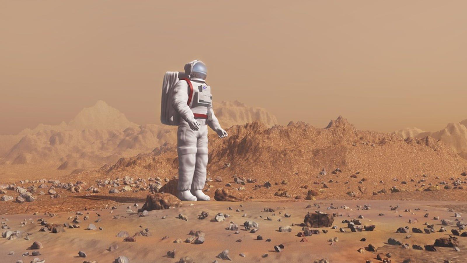 Los astronautas que viajen a Marte perderán inteligencia por el camino