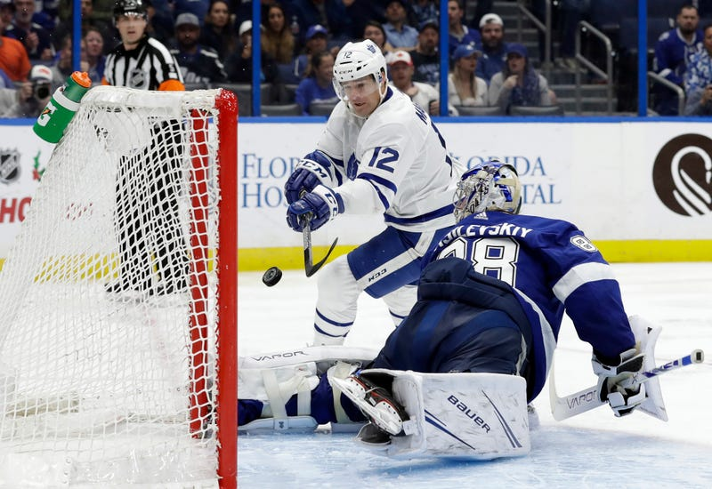Vasilevskiy's about to save this, somehow.