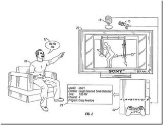 Illustration for article titled Sony Files Patent for PS3 Laughter Detection