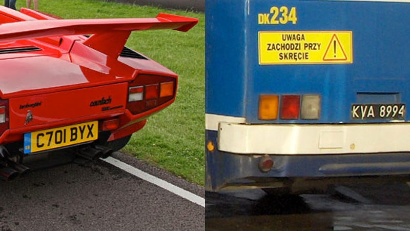 separated at birth lamborghini countach vs ikarus 280 bus. Black Bedroom Furniture Sets. Home Design Ideas