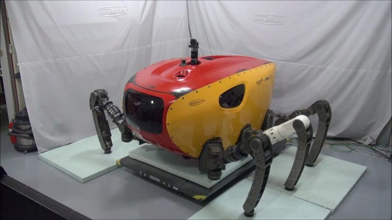 Illustration for article titled This Robotic Crab Will Scuttle the Sea for Historic Sunken Treasures