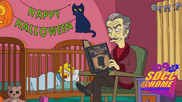 The Simpsons Brought an Early Taste of Halloween to SDCC 2021
