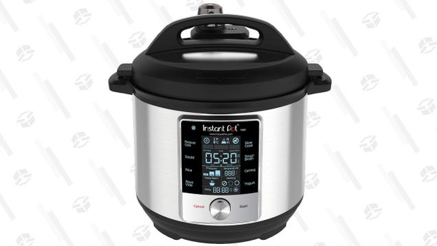 Save $50 On the Instant Pot Max, Which Does Canning, and Somehow Cooks Even Faster