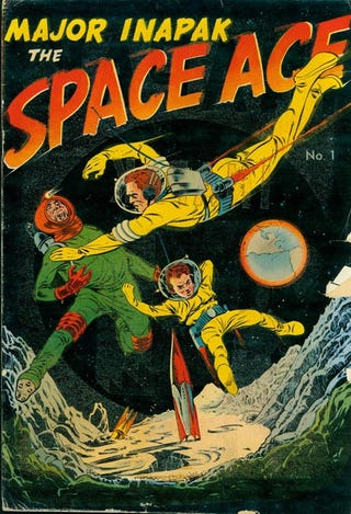 Illustration for article titled Who Remembers Major Inapak: Space Ace?