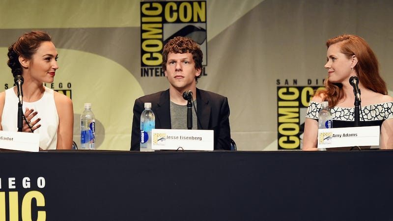 Illustration for article titled Jesse Eisenberg, Victim of the Press, Compares ComicCon to Genocide