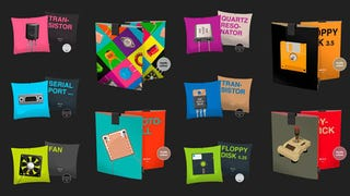 Illustration for article titled Pillow and iPad Covers That Make the Nerd in Me Absolutely Giddy