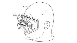 Illustration for article titled Apple Patents Oculus Rift-Style Headset