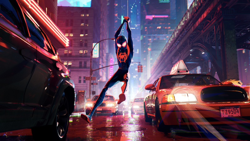 Illustration for article titled Into The Spider-Versewill head back into IMAX theaters this weekend