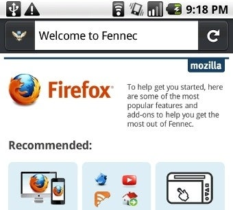 Illustration for article titled Mozilla Offering Nightly Builds of Firefox for Android