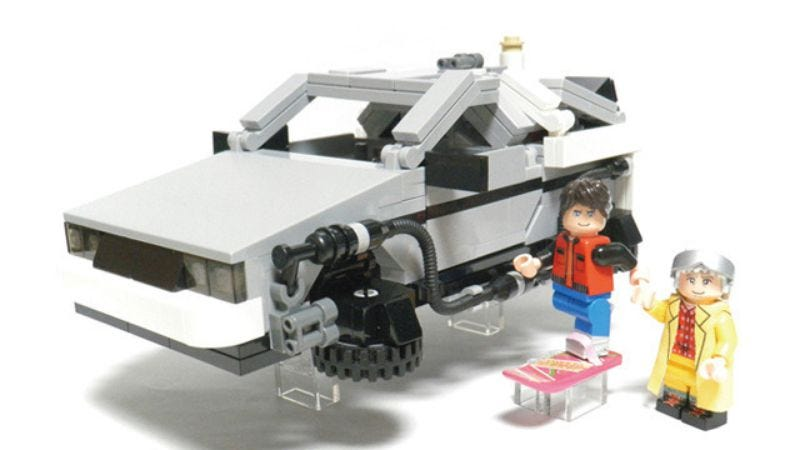 Lego Succumbs To Back To The Future Lobby Agrees To Make Set With