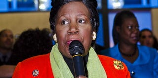 Rep. Sheila Jackson-Lee (D-Texas), a member of the CBC, at an event last year (Kris Connor/Getty Images)