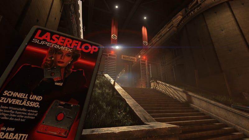 Wolfenstein's Best Hidden Feature Is All The Fascist