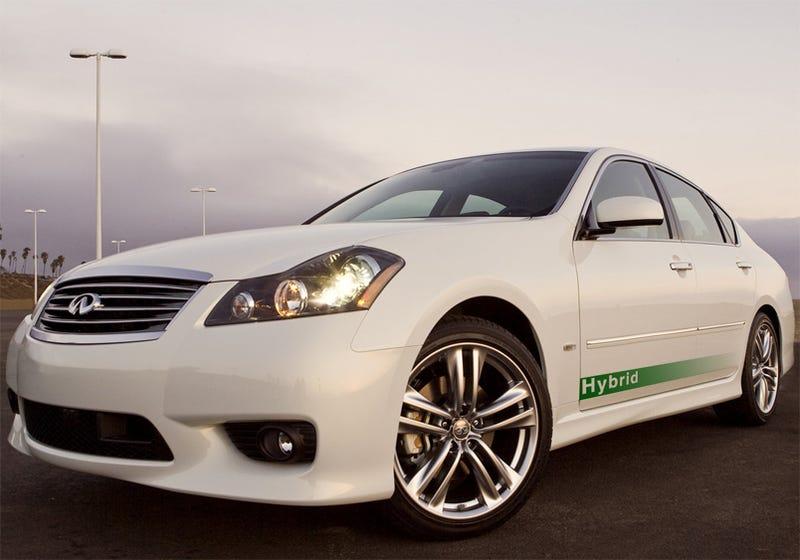 Illustration for article titled Hybrid Luxury Sedan In Infiniti's Future?