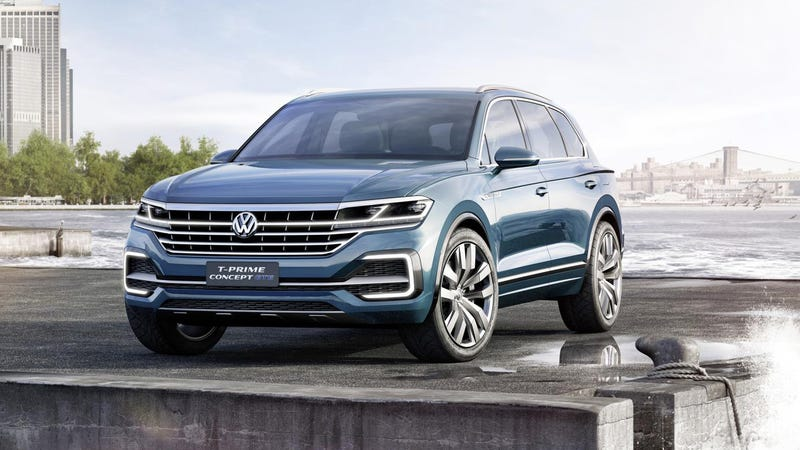 Illustration for article titled The Volkswagen T-Prime GTE Previews The Big SUV America Demands