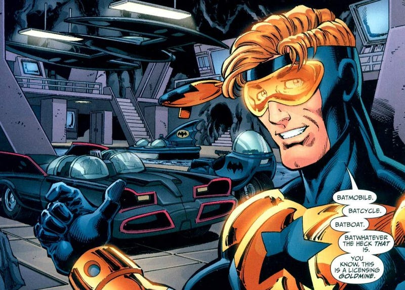Illustration for article titled There Really Should Be a Booster Gold Comic in 2015
