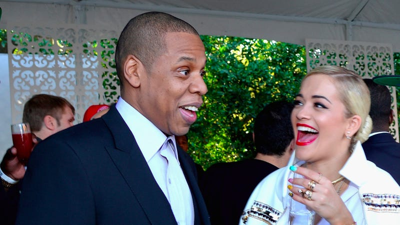 Illustration for article titled Rita Ora Denies Any Inappropriate Relations with Jay Z, Proclaims Her Love for Beyoncé