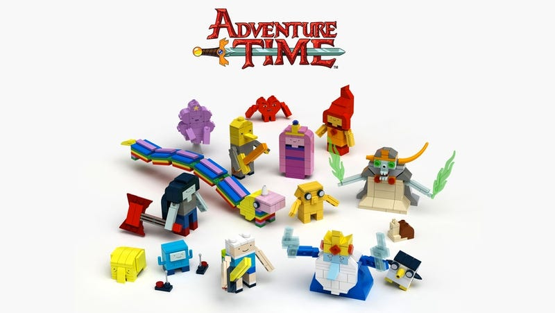 Illustration for article titled Mathematical! Lego Reveals It's Finally Making an Adventure Time Set
