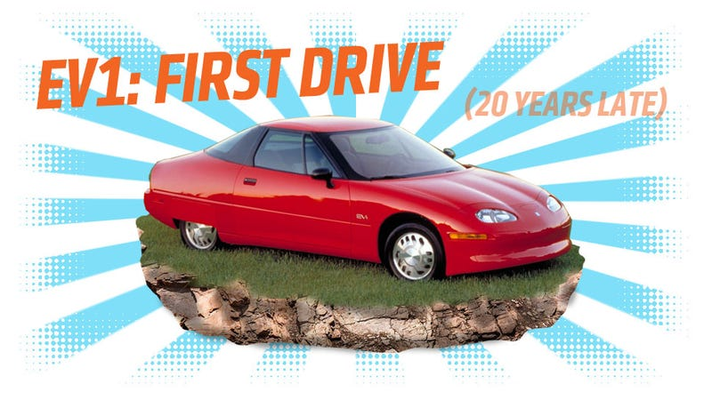 Illustration for article titled A Review Of The GM EV1, Or At Least What I Can Remember After 20 Years