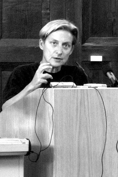 Illustration for article titled I'm Judith Butler? (Link should be fixed now)
