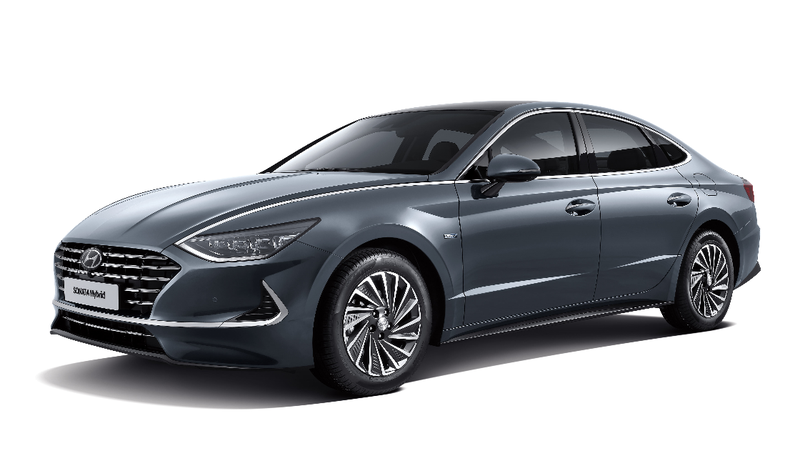 Illustration for article titled The 2020 Hyundai Sonata Hybrid Has a Solar Roof
