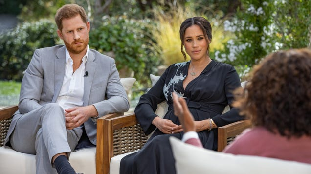 Oprah s Interview With Meghan Markle and Prince Harry Finally Posted Online for Cordcutters