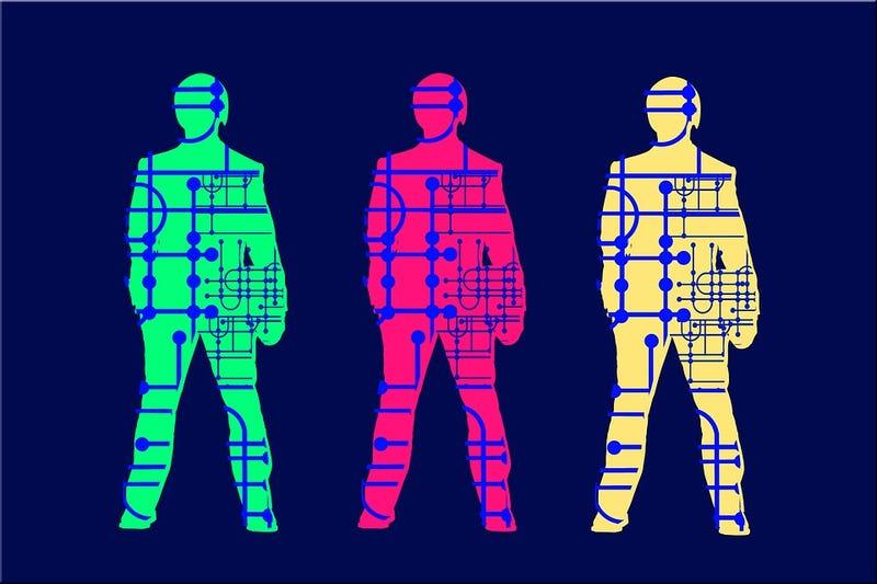 Illustration for article titled Logran conectar por primera vez los cerebros de tres personas en una red para compartir pensamientos básicos
