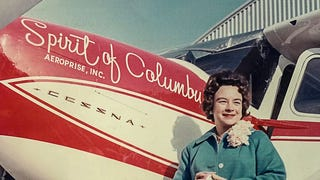 Fifty Years Ago, Jerrie Mock Became The First Woman To Fly The Globe Solo