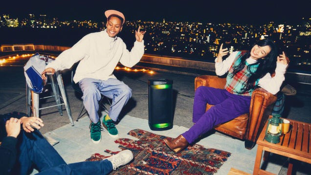 Sony s Launching Four Speakers Just in Time for Hot Vax Summer