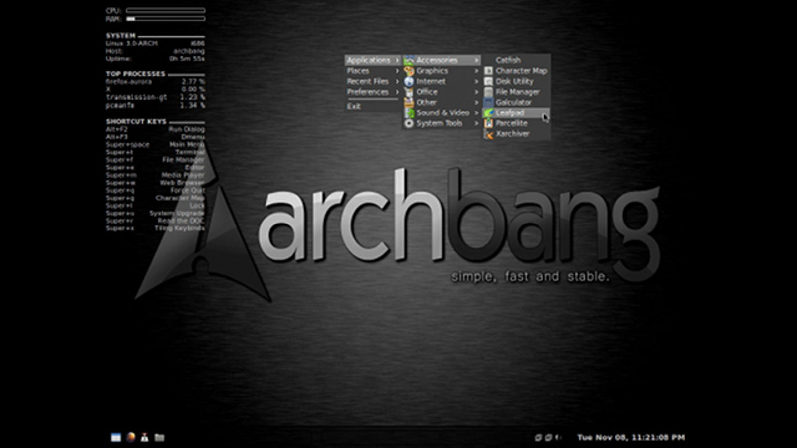 ArchBang Brings Arch Linux's Greatest Features to Your PC Without