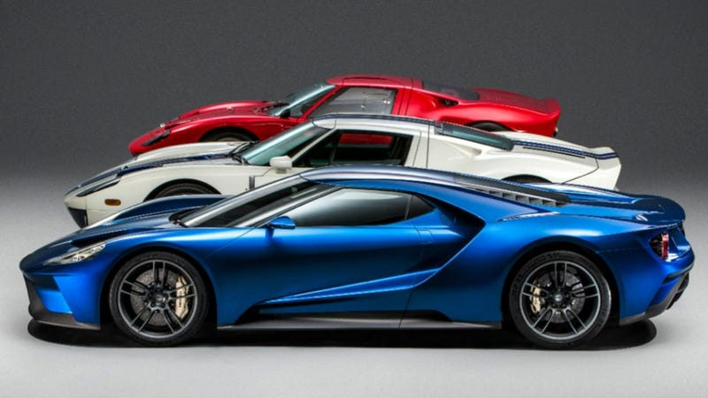 Illustration for article titled Report: The Ford GT Le Mans Race Car Will Be Announced Friday