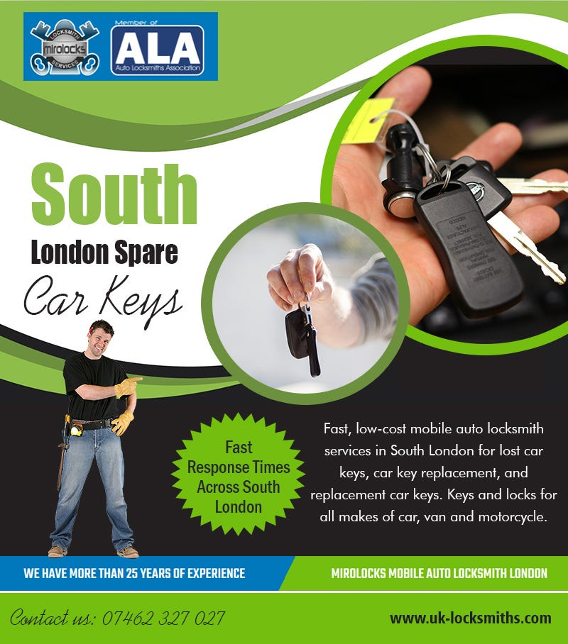 Illustration for article titled South London Spare   Car Keys | Call - 07462 327 027 | uk-locksmiths.com