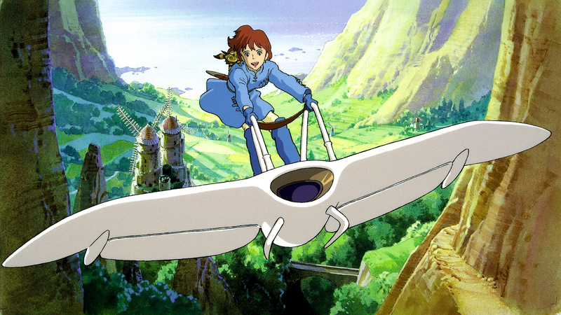 From Nausicaa of the Valley of the Wind.