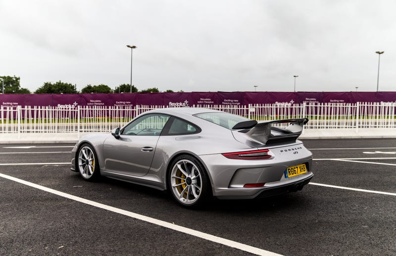 a 2018 porsche 911 gt3 is also a surprisingly great road trip car