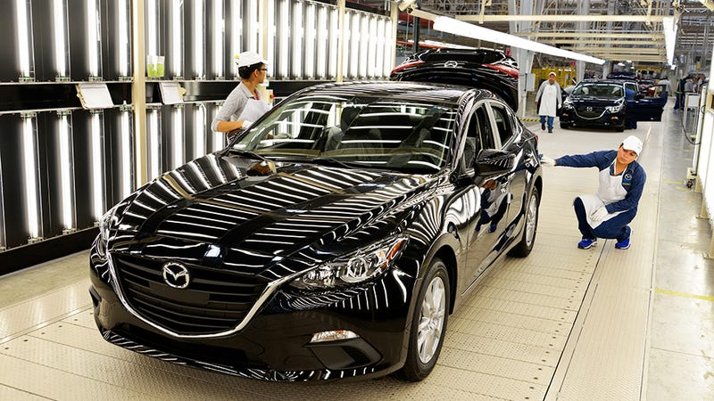 Illustration for article titled TIL - Mexican Mazda3 Edition