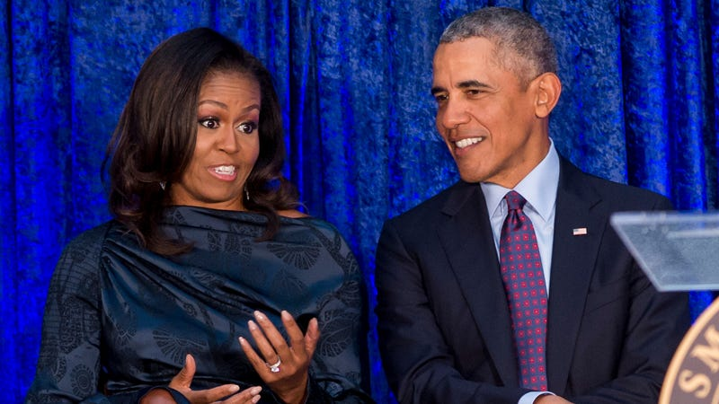 Illustration for article titled Netflix is apparently in talks for new TV shows from Barack and Michelle Obama