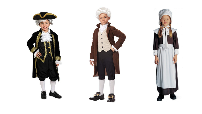 Repurpose a Generic Colonial Costume for All Your Kid's School Projects