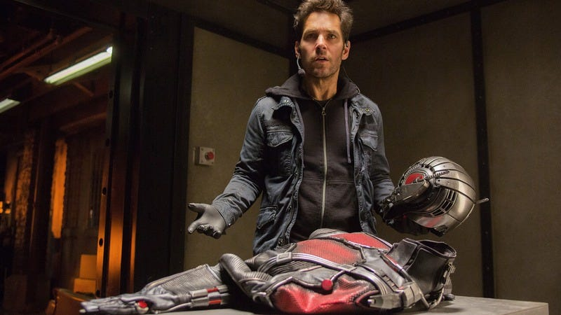 Ant-Man was supposed to have a different ending