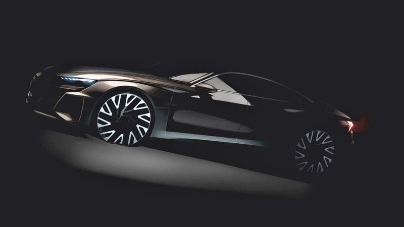 The Electric 2020 Audi E Tron Gt Sedan Will Be Built On The Porsche